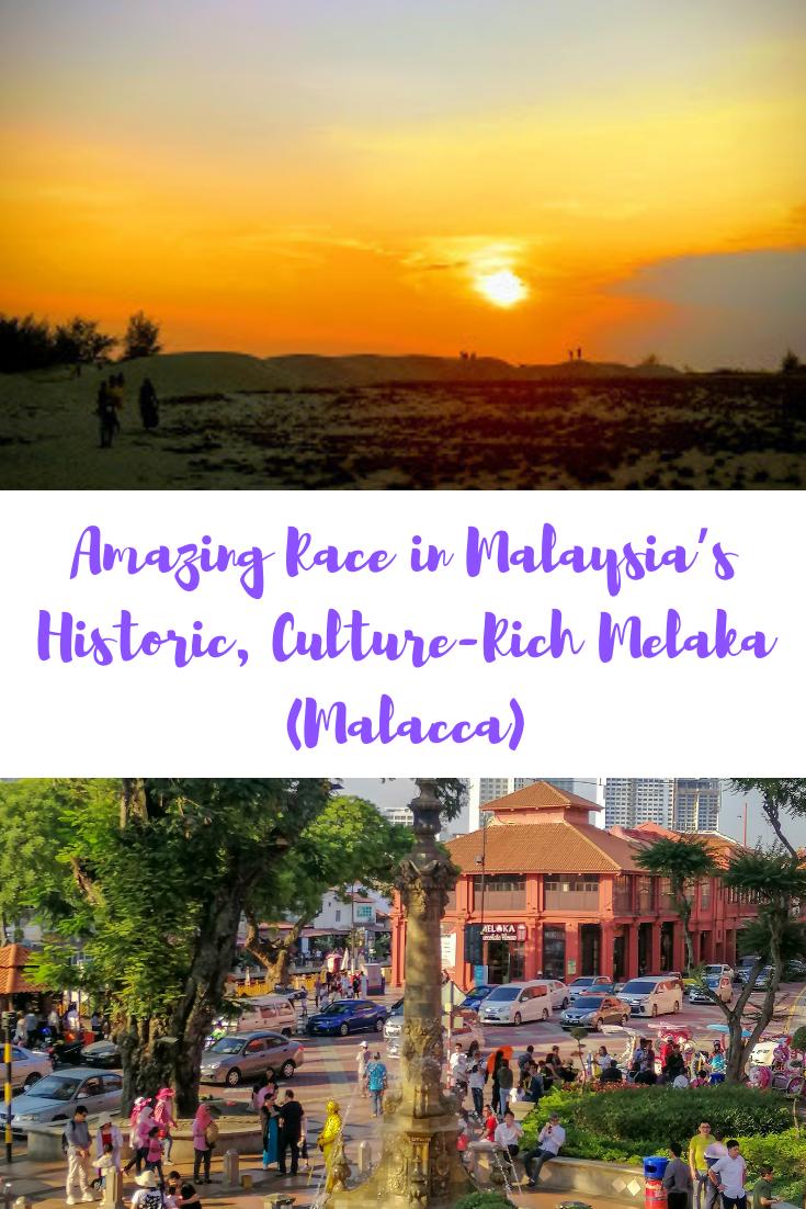 Amazing Race in Malaysia's Historic, Culture-Rich Melaka (Malacca)